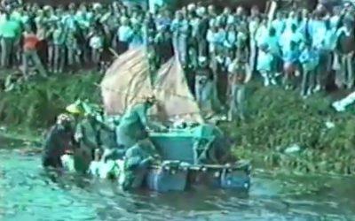 Ythan Raft race 1988